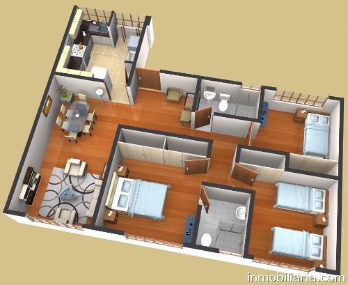 D lares departamento en barranco en venta jr Departamento 3 habitaciones