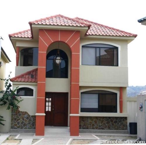 D lares casa en riobamba en venta 120 m2 3 for Disenos de casas 120 m2